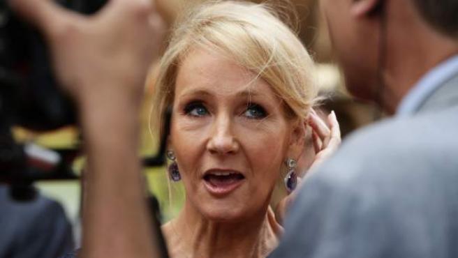 La escritora J. K. Rowling, en un evento el pasado verano.