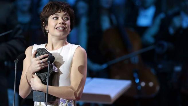 Anna Castillo, ganadora del Goya 2017 a mejor actriz revelación por El Olivo.