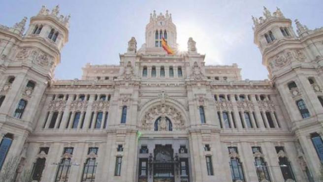 El Palacio de Cibeles, sede del Ayuntamiento de Madrid.