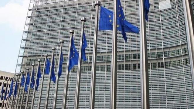 Edificio de la sede de la Comisión Europea en Bruselas.