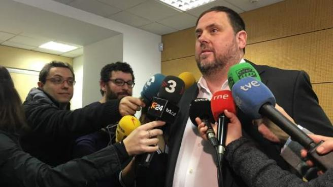 Oriol Junqueras, el vicepresidente del Govern.