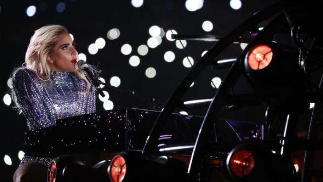 Lady Gaga, en la Super Bowl.