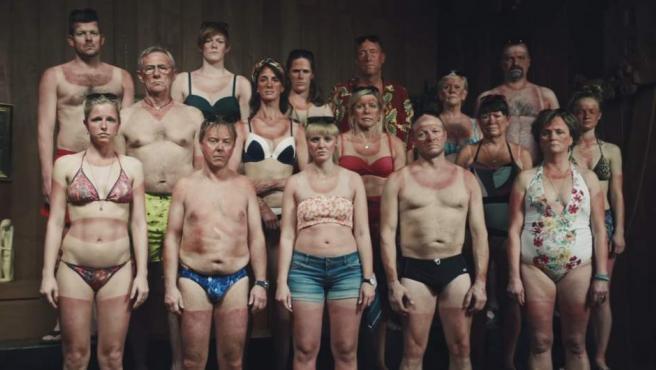 Una de las imágenes más impactantes del anuncio danés.