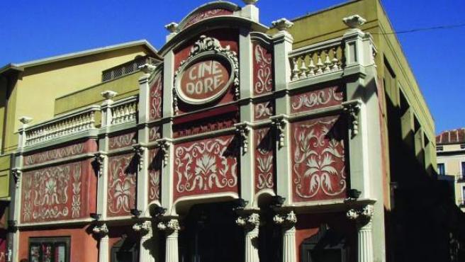 La Filmoteca Doré, en pleno centro de Madrid.