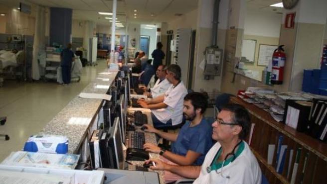 Urgencias del Hospital Clínico Málaga Diraya.