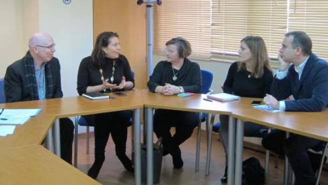 El PP se reúne con miembros de la OCAL