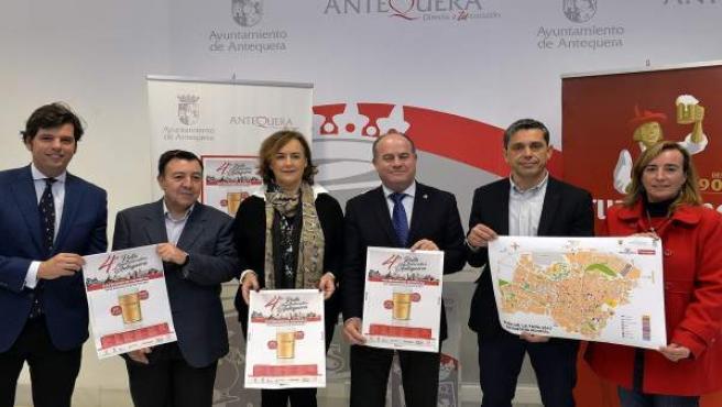 Barón presenta la ruta gastroturística Patrimonio Mundial de Antequera