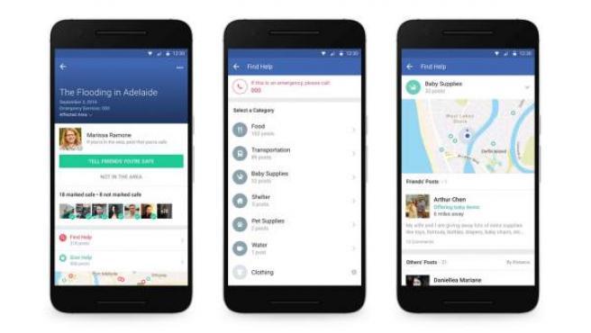 La nueva herramienta de Facebook, 'Community Help'.