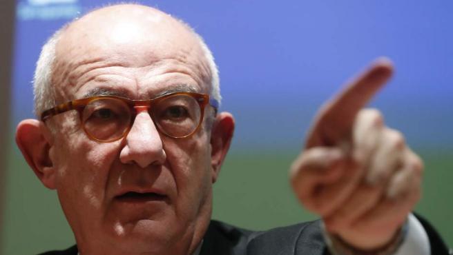 El presidente en funciones del CSN, Fernando Marti Scharfhausen.