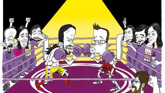 El duelo en Podemos, visto por Asier.