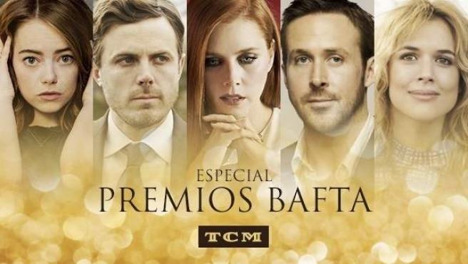 El canal Turner Classic Movies (TCM) emitirá el domingo 12 la gala de los premios BAFTA.