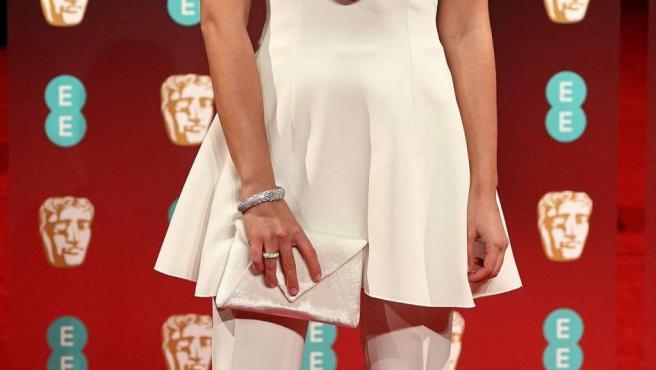 La actriz española Laia Costa, en la alfombra roja de los BAFTA.