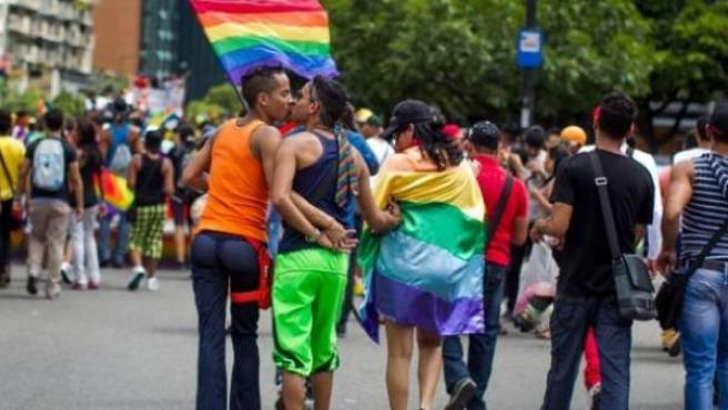 Una imagen del último día del Orgullo Gay.