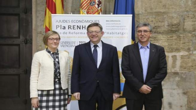 Salvador, Puig y Climent presentan el plan Renhata