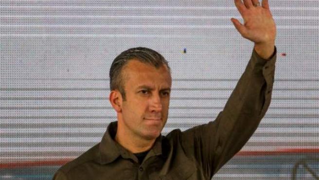 El vicepresidente de Venezuela, Tareck El Aissami, en enero de 2017.
