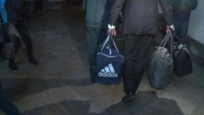 Bolsas con pertencias de condenados por Gürtel