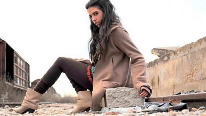 La cantante Mirela, en una imagen promocional.