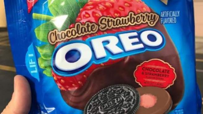 Oreo tiene un nuevo sabor: fresa con chocolate