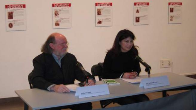 Joaquín Díaz y Ana Redondo presentan la exposición
