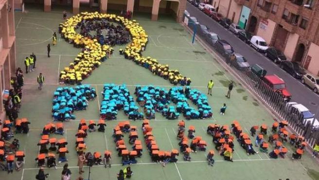 Escolapios rinde homenaje y apoyo a los niños con cáncer