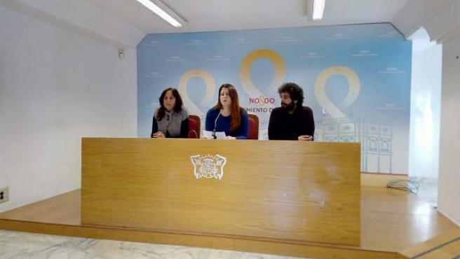 Los concejales de Participa Sevilla