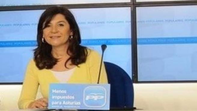 La Candidata A Presidir El PP De Asturias, Carmen Maniega.