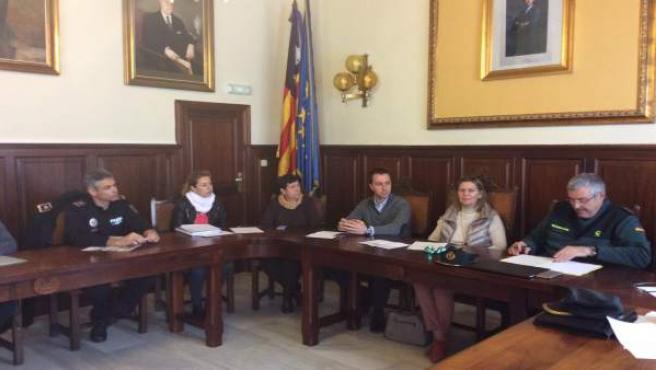 Salom asiste a las Juntas de Seguridad en Santanyí y Campos