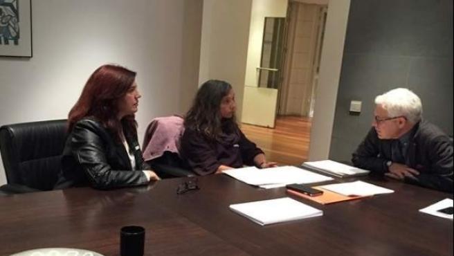 Reunión entre el PSOE y el Colegio de enfermeros de Baleares