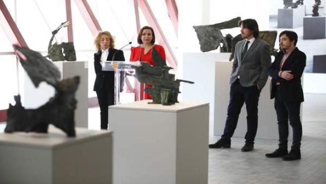 El IAACC reordena la exposición permanente sobre Pablo Serrano