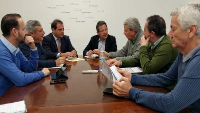 Alberto Díaz con Solidaridad del Taxi.