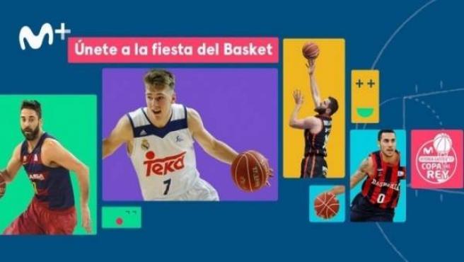 Movistar+ ofrece al completo La Copa del Rey de baloncesto