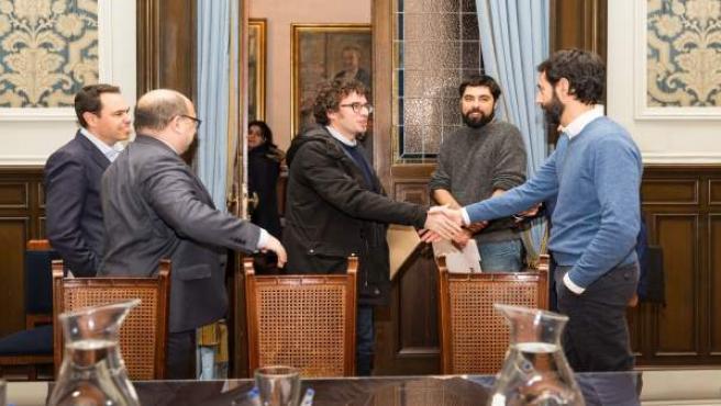 Reunión Ayuntamiento de A Coruña-Deportivo