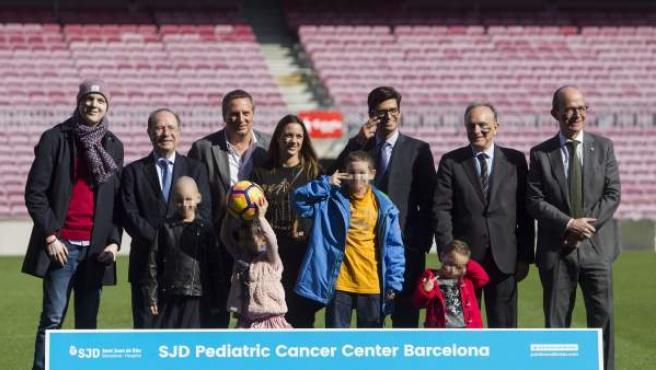 La Fundación Leo Messi apoya el proyecto de construcción de un centro infantil de cáncer en Barcelona.