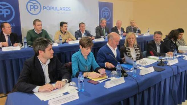 Junta Directiva Regional del PP.