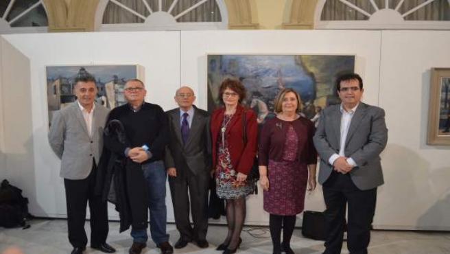 Homenaje a Luis Cañadas con un libro y una muestra de su obra
