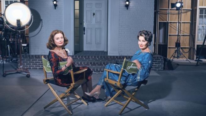 Tráiler de 'Feud': Bette Davis (Susan Sarandon) y Joan Crawford (Jessica Lange), a la gresca