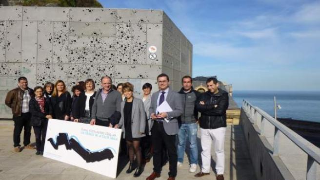 Presentación actividades red de museos de la costa vasca