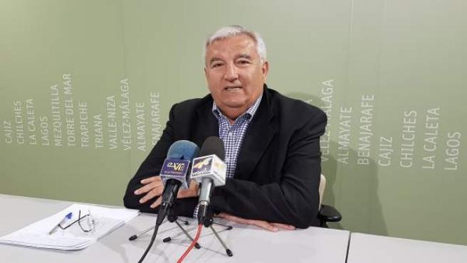 Marcelino Méndez Trelles, edil de Vélez-Málaga