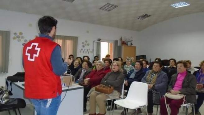 Un taller de mayores celebrado en Montalbán