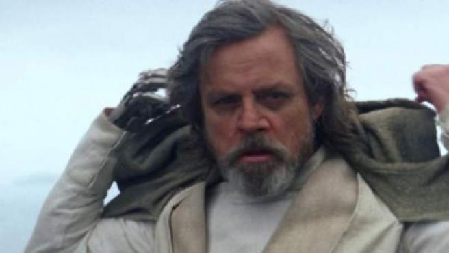 Luke Skywalker en una escena de 'Star Wars: El despertar de la Fuerza'.