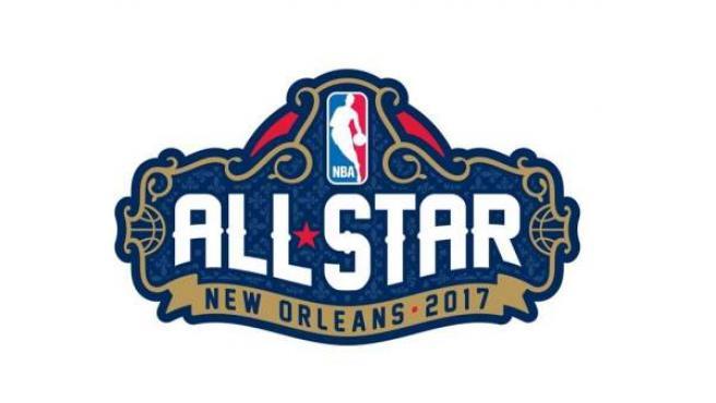 Logo del All Star 2017, que se celebra en Nueva Orleans.