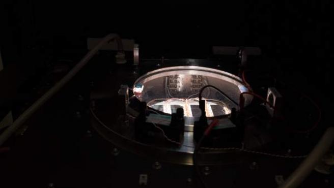 Imagen de una de las células fotovoltaicas del proyecto CHEOPS.