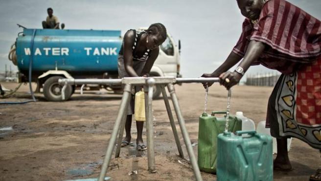 Crisis humanitaria en Sudán del Sur.