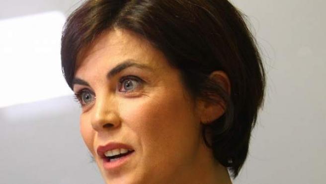 Samanta Villar durante la entrevista con '20minutos'.