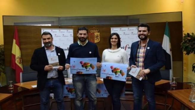 Presentación de Centrifugados, encuentro literario en Plasencia