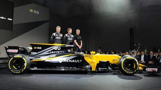 Presentación en Londres del nuevo Renault RS17.