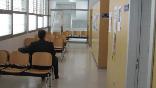 Imagen de una sala de espera en ambulatorio.