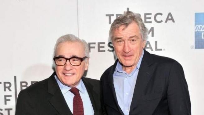 Scorsese y Robert De Niro.