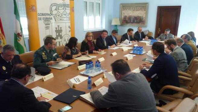 Reunión de la Comisión Provincial de Tráfico y Seguridad de la Circulación.