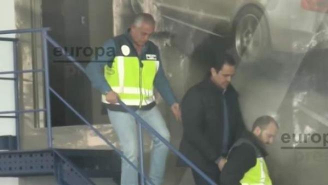 Miguel López, detenido por la muerta de la viuda del expresidente de la CAM